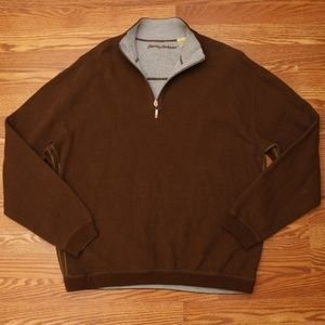 Tommy Bahama 1/4 Zip Pullover Sweater Mens